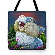 Disney Floral 05 Thumper Blue Tote Bag