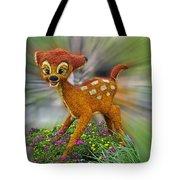 Disney Floral Bambi Tote Bag