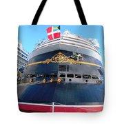 Disney Magic Boat Tote Bag