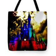 Disney Night Fireworks Tote Bag