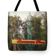 Disneyland Downtown Disney Signage 01 Tote Bag