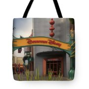 Disneyland Downtown Disney Signage 03 Tote Bag