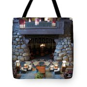 Disneyland Grand Californian Hotel Fireplace 01 Tote Bag