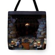 Disneyland Grand Californian Hotel Fireplace 02 Tote Bag