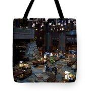 Disneyland Grand Californian Hotel Lobby 01 Tote Bag