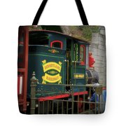 Disneyland Rr Oiling Green Engine 3 Tote Bag