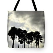 Disney's Epcot Palm Trees Tote Bag