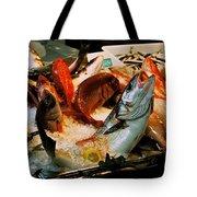 Display Fish Tote Bag