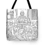 Dissection Lesson, 1493 Tote Bag