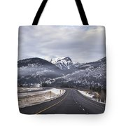 Distance Is Near Tote Bag