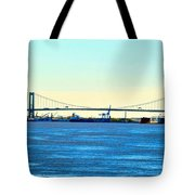 Distant Bridges Tote Bag