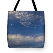 Distant Clouds Tote Bag