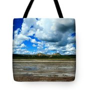 Distant Hot Springs Tote Bag