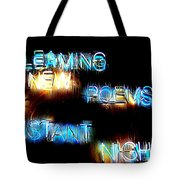 Distant Nights Tote Bag