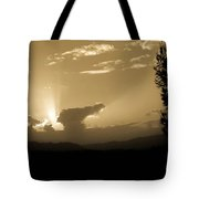 Distant Sunlight Tote Bag