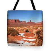 Distant Towers Tote Bag