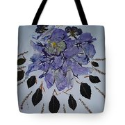 Distorted Flower-dream Tote Bag