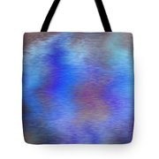 Distorted Waters Tote Bag