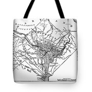 District Of Columbia, 1801 Tote Bag