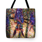 Disturbed Tote Bag by James W Johnson