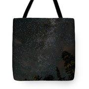 Disturbing The Milky Way Tote Bag