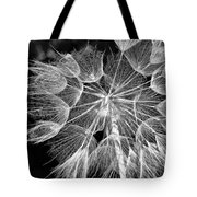 Ditch Lace Bw Tote Bag