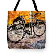 Ditchin' The Taxi To Ride Tote Bag