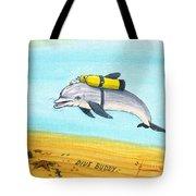 Dive Buddy Tote Bag