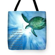 Dive Deep Tote Bag by Michal Madison