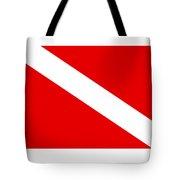Diver Flag Tote Bag