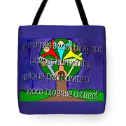 Diversity Tree Tote Bag