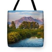 Divide Creek Morning Tote Bag