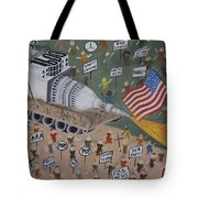 Divided We Stand Tote Bag