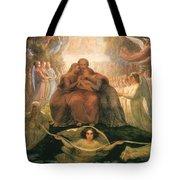 Divine Genesis Tote Bag