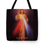 Divine Mercy Big File Tote Bag