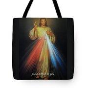 Divine Mercy Jesus Tote Bag