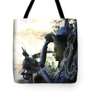 Divine Mother And Child Tote Bag