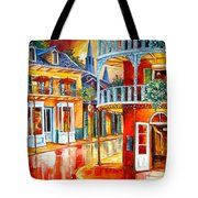 Divine New Orleans Tote Bag