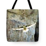 Diving Falcon Tote Bag