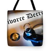 Divorce Decree Tote Bag