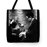 Dizzy On Piano Tote Bag