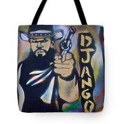 Django Three Faces Tote Bag
