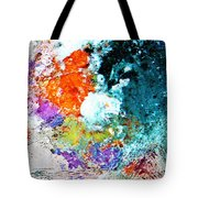 Djinn Blows ... Dove Floating In The Wind Tote Bag