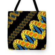 Dna Strand - Dna Strands Art - Genetics Genetic - Gene Genes - Conceptual - Abstract Illustration Tote Bag