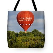 Do All To The Glory Of God Balloon Tote Bag