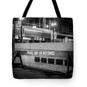Do Not Cross Tote Bag