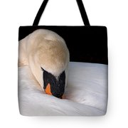 Do Not Disturb - Swan On Nest Tote Bag