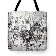 Do Not Labor In Vain And Do Not Listen To Worthless Matters 2 Tote Bag