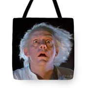 Doc Brown Tote Bag