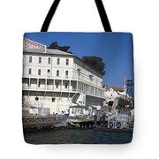 Dock At Alcatraz Island Tote Bag